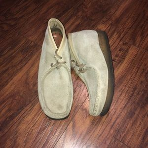 Clark's Original Wallabee Leather Shoes
